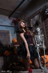 DSC_7398 (Robin Huang 35) Tags: 孫卉彤 candy miruna萬聖風 小惡魔 吸血鬼 vampire 萬聖節 halloween 棚拍 lady girl d810 nikon devil