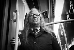 ... (Erwin Vindl) Tags: streetportrait streetphotography streettogs candid blackandwhite bw monochrome underground vienna erwinvindl olympusomd em10markii