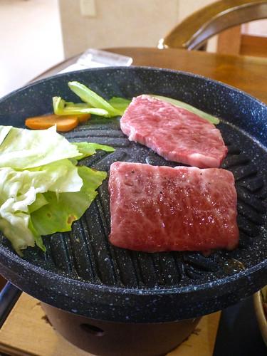 Hidagyu beaf Teisyoku lunch