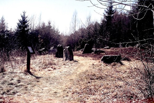 Domarring _ ancient stone circle, Vrångstad, Bottna, 2006