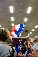 20161005_FUJ3051 (patrickbatard) Tags: lr campagne drapeaux meeting montauban primaire rpublicains sarkozy toutpourlafrance