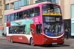 SN59 BGY, Princes Street, Edinburgh, March 11st 2016 (Southsea_Matt) Tags: sn59bgy 345 route22 volvob9tl wright eclipsegemini princesstreet edinburgh lothian canon 60d 1855mm march spring 2016 lothianbuses bus omnibus vehicle publictransport passengertransport