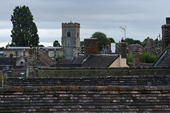 Rooftops, Much Wenlock 11/08/2016 (Gary S. Crutchley) Tags: much wenlock shropshire william penny brookes linden field grave birth place birthplace olympics uk great britain england united kingdom nikon d800 history heritage raw nikkor afs 28300mm f3556g ed vr