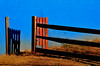 Shadow Corral (hutchphotography2020) Tags: corral gate shadow cinderblockwall pen nikon hutchphotography