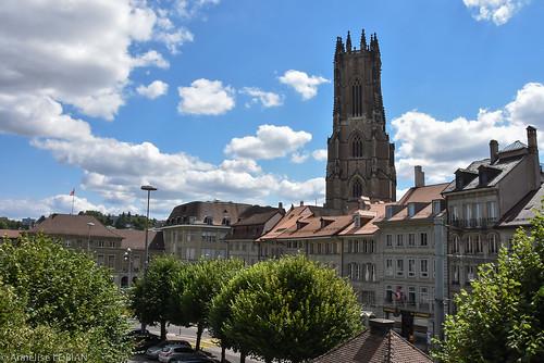 Fribourg et la cathédrale Saint Nicolas
