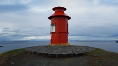 Sgandisey lighthouse (kzoop) Tags: samsung euopre iceland travel vacation snfellsnes snfellsnespeninsula snaefellsnes europe lighthouse