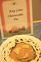 Key Lime Cheesecake pie? Wow!