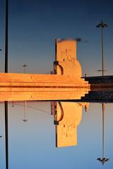 Padro dos Descobrimentos (Manuel Ruas Moreira) Tags: architecture monument reflection upsidedown landmark water magichour