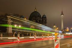Berlin by Night II (jennifer.stahn) Tags: berlin dom nacht night reise travel cityscape light alex fernsehturm nikon jennifer stahn taillight