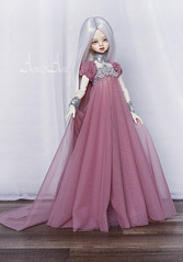 Future Empress (AyuAna) Tags: bjd ball jointed doll dollfie ayuana design handmade ooak clothing clothes dress set fantasy style dim dollinmind benetia head hybrid normalskin