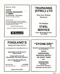 Manchester City vs Stoke City - 1974 - Page 13 (The Sky Strikers) Tags: manchester city stoke maine road 50 years football league first division match magazine 10p