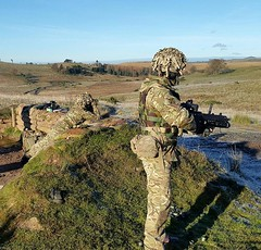 ranges A COY (6 SCOTS Reserve) Tags: royal regiment scotland british army infantry galashiels edinburgh dumfries training weapons grenades soldiers reserve
