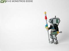 KV-E MonstrosEddie (Dead Frog inc.) Tags: lego mak maschinenkrieger mostroseddie monstros eddie cyborg