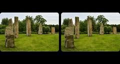The Standing Stones. (Th3 Highlander 3D) Tags: park stone landscape landscapes stereoscopic stereophotography 3d standingstones nikon stones sheffield yorkshire parks stereoscope standingstone southyorkshire d5100 manorfieldspark nikond5100