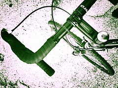 Cockpit (pavementgraveldirt) Tags: black steel parts cm xc build surly 56 cyclocross cromo crosscheck 4130