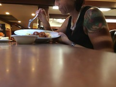 Day 241 (boxbabe86) Tags: tattoo dinner august friday dennys timer iphone day241 2015 canyoncountry 365days 10secondtimer