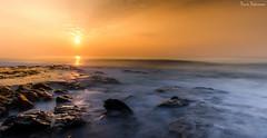 Fire and Ice (Navin.Images) Tags: sea sun india seascape nature sunrise seashore vizag andhrapradesh visakhapatnam incredibleindia sunrisecity