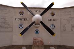 Memorial (halfpintspictures) Tags: steeple ww2 raf morden usaaf 8thaf