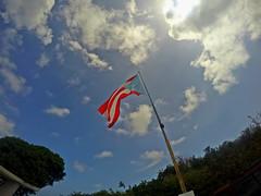 GoPro | Puerto Rico, patria mía. (angelica.santiago1219) Tags: lighthouse faro puertorico flag bandera pr boricua gopro puertorriqueño hero4