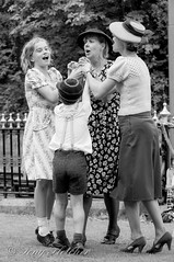 'OOHH DO THE HOKEY COKEY' -  'CRICH TRAMWAY VILLAGE 1940's' - 8th-9th AUGUST 2015 (tonyfletcher) Tags: portrait vintage model 1940s homefront 40s crich crichtramwayvillage tonyfletcher crich1940s whitbygothscenecouk crich1940sevent crich1940s2015 tonyfletcher2001yahoocom crichtramwayvilliage1940saugust2015