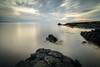 Balaklettar Hafnarfjordur (hrobertsson) Tags: longexposure sunset seascape clouds landscape iceland nd ndfilters sonyalpha leefilter lee06ndgradhard littlestopper ilce7r hrobertsson sony1635f4