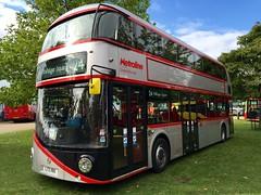 Metroline Borismaster LTZ 1190 (LT190) (LimeBus) Tags: new bus london buses for routemaster wright tfl 2015 metroline showbus nb4l borismaster lt190 ltz1190