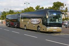 GARFIELD TRAVEL WEST SLEEKBURN, Co. DURHAM YJ13HUU (bobbyblack51) Tags: travel west northumberland garfield vanhool dunoon 2015 sleekburn tx15 alicron yj13huu