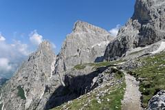 Szlakiem na przełęcz Passo Ball