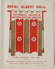 Royal Albert Hall National Union of Women's Suffrage Societies, 23 Feb 1912.