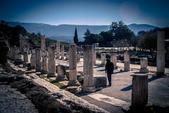 Ephesus (Brian Lavery) Tags: red winter ephesus ruins roman romanempire landscape countryside