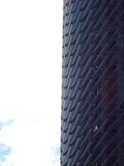 Torre Agbar (stillunusual) Tags: barcelona catalunya catalonia spain bcn torreagbar tower skyscraper avingudadiagonal streetphotography street city cityscape urban urbanscenery urbanlandscape landscape building architecture travel travelphotography travelphoto travelphotograph 2016