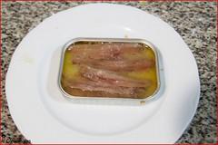 Tres anchoas (LosComensales.es) Tags: pasta ajo almejas spagueti