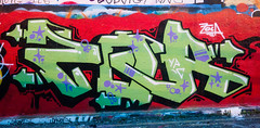 Zola YPC (cocabeenslinky) Tags: street city uk november red england urban streetart green london art writing lumix graffiti paint artist photos south united capital letters kingdom tunnel can spray east panasonic waterloo graff leake se1 zola artiste zor 2015 ypc dmcg6 cocabeenslinky