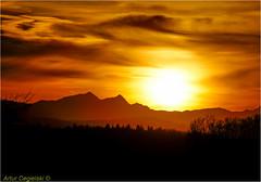 Sunset in Rockies (Artvet) Tags: