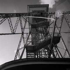 Structure in Backlight (ucn) Tags: blackandwhite berlin architecture rolleiflex steel architektur sl66 rodinal schwarzweiss funkturm radiotower stahl agfarodinal fujiacros100 schwarzweis fujineopanacros100 distagon40mmf4 film:brand=fuji film:iso=100 developer:brand=agfa developer:name=agfarodinal film:name=fujineopanacros100 filmdev:recipe=8730