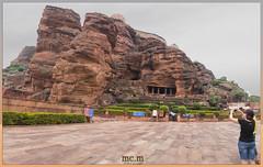 Cuevas Badami (Fotocruzm) Tags: india karnataka badami hinduismo chalukyas vatapi rupiaindia fotocruzm mcruzmatia
