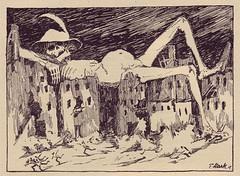 German magazine: Der Orchideengarten, c. 1920 (STORMZORN) Tags: maiden madchen mortsqueletteskeletonfemmedame fillejeunewomannakedmementomorinuenude erosthanatosdansemacabrecadavercadavreznortcraneskull muertechica todtott tanzdellamorte