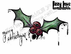 The Cutest Little Creepmas #2FINALWM (Lizzy Love ♥ Oddball Art Co.) Tags: santa christmas cute eye art love reindeer cards big holidays paintings hats creepy antlers elf fox kawaii greeting bats lizzy 2015 oddballart