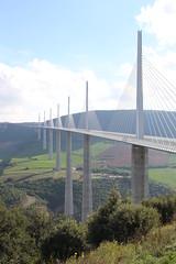 20140910 Aveyron Millau - Le viaduc-006 (anhndee) Tags: france frankreich millau viaduc aveyron midipyrnes viaducdemillau