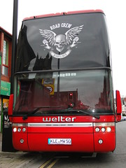 Silent Screams Tour 2015 Welter Tours Tour Bus (5asideHero) Tags: bus tour silent transport band double van 50 tours sleeper decker mw screams hool 2015 kle nightliner welter astromega