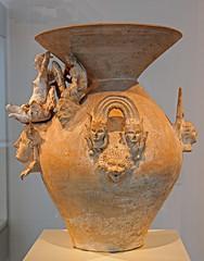 Daunian Luxury Vessel (2) (f_snarfel) Tags: museumsinsel altesmuseumberlin daunia antikensammlungberlin staatlichemuseenberlin daunianluxuryvessel daunischesprunkgefäss monsterscylla