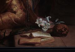 Gent, Oost-Vlaanderen, Museum voor Schone Kunsten, Crayer, coronation of saint Rosalia, detail (groenling) Tags: saint painting skull book boek paint belgium belgique belgi sint msk ghent gent gand coronation flanders rosalia heilige vlaanderen oostvlaanderen museumvoorschonekunsten schedel kroning crayer