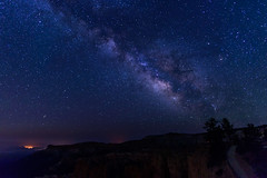 Milky Way Over The Bryce Canyon (ttl-jw) Tags: sunrisepoint galaxy stars sky night nightsky brycecanyonnationalpark brycecanyon utah milkyway nikon nikond750 nationalpark 2016summervacation