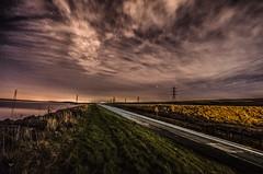 driven (Glen Parry Photography) Tags: clouds road water longexposure night lighttrail stars nikon d7000 glenparryphotography sigma sigma1020mm nightphotography nightsky landscape