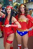 DSC_0501 (Randsom) Tags: nycc 2016 newyorkcomiccon nycomiccon javitscenter october nyc newyorkcity cosplay costume fun comicbooks comicconvention dccomics justiceleague jla justicesociety jsa wonderwoman heroine superheroine wig redlips duo sisters pretty sexy woman girl elektra netflix smile female