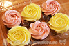 Rosette Topped Cupcakes