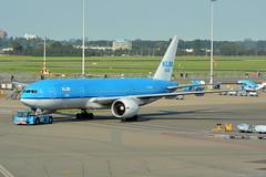 PH-BQF KLM Boeing 777-200 EHAM 12/9/16 (David K- IOM Pics) Tags: ph phbqf klm kl asia royal dutch airlines boeing 777 777200 b772 eham ams schiphol amsterdam