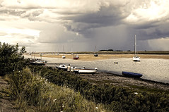 Big Storm Cloud (simonannable) Tags: storm wells wellsnextthesea norfolk cloud severe down pour weather english england uk dark coast coastal threatening massive sony sky storms