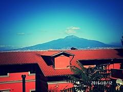 Vesuvian Roofs (triziofrancesco) Tags: veduta panorama landscape sorrento vesuvio triziofrancesco campania italy vulcano mountain napoli tetti roofs