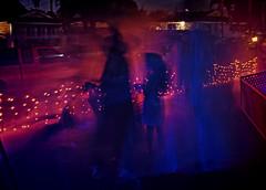 Halloween (fourbyfourblazer) Tags: halloween trickortreat costumes blacklight